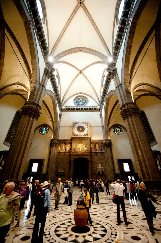 Inside the Duomo, Florence, Italy, by Jason Pier in DC via Flickr