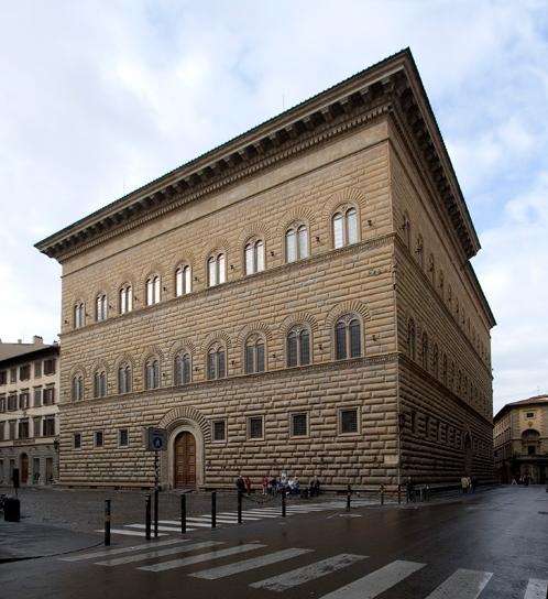 exterior, palazzo strozzi