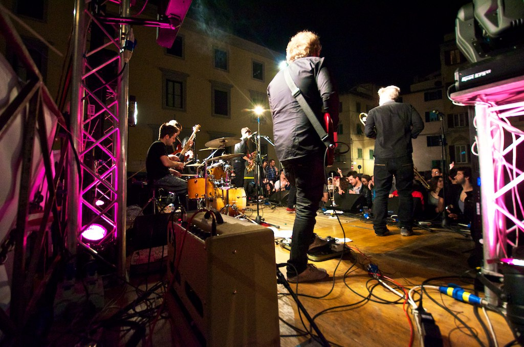 Concerto in Piazza Mentana. Notte Bianca 2012 by m4tt0