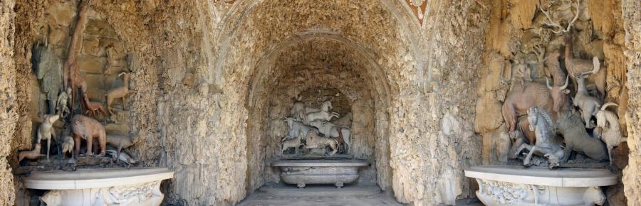 Grotta degli Animali, Villa di Castello by Meg