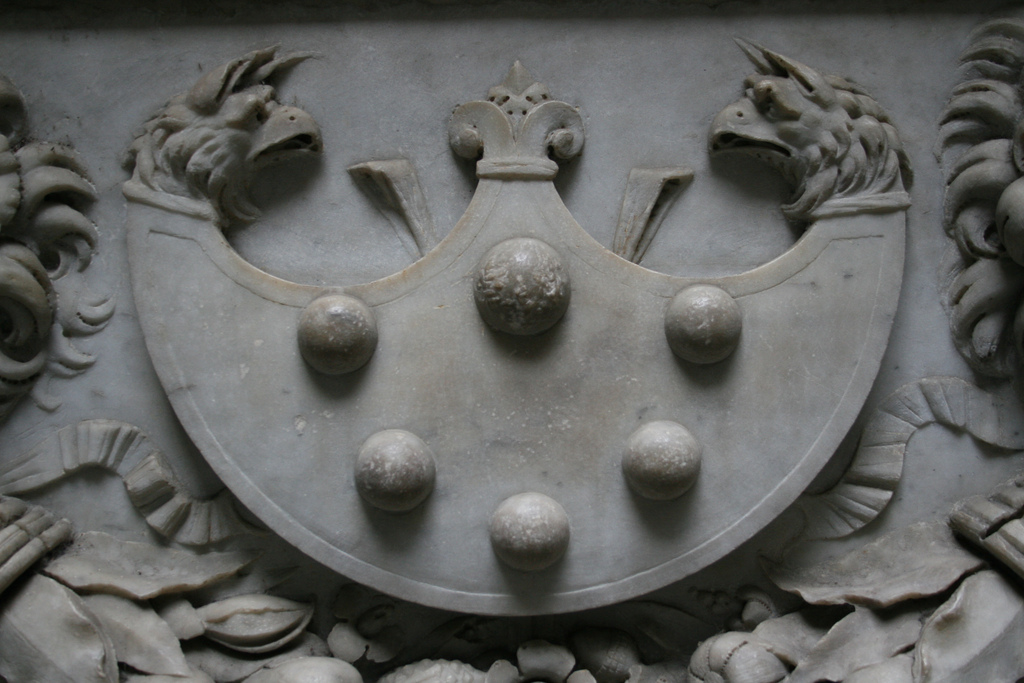 medici family crest by context travel on flickr
