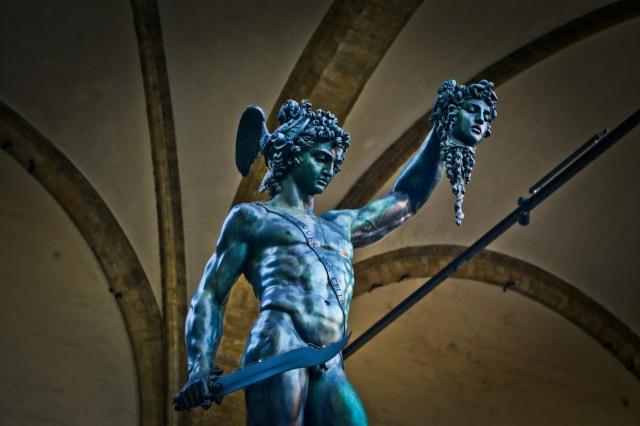 Perseus and Medusa by Matt Freire