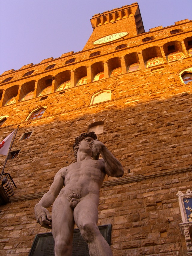 David Copy at the Palazzo Vecchio, by Hannah