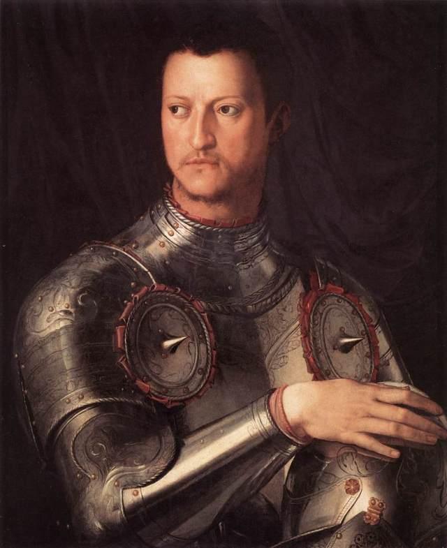 Cosimo de' Medici, Bronzino, Wikimedia Commons