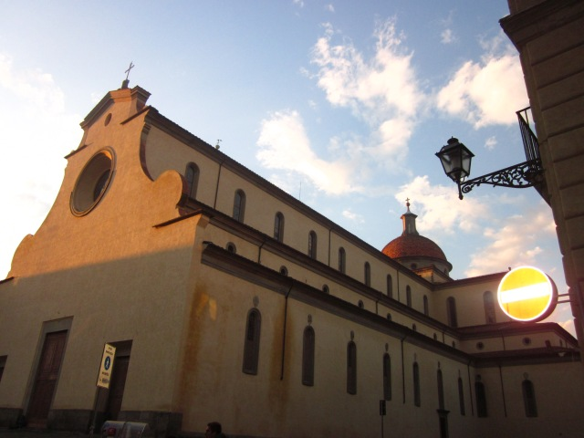 Santo Spirito at sunset