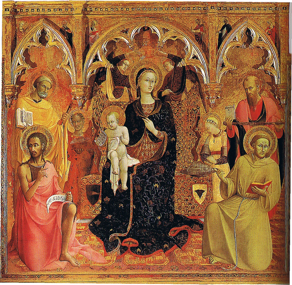 Madonna of the Snow by Sassetta