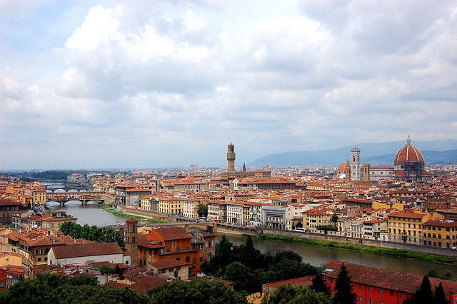 Florence from Piazzale Michelangelo by VT_Professor
