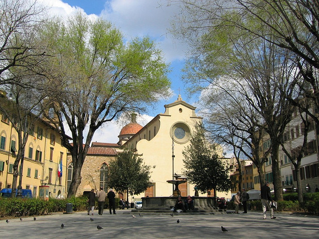 Piazza Santo Spirito by Scott MacLeod Liddle