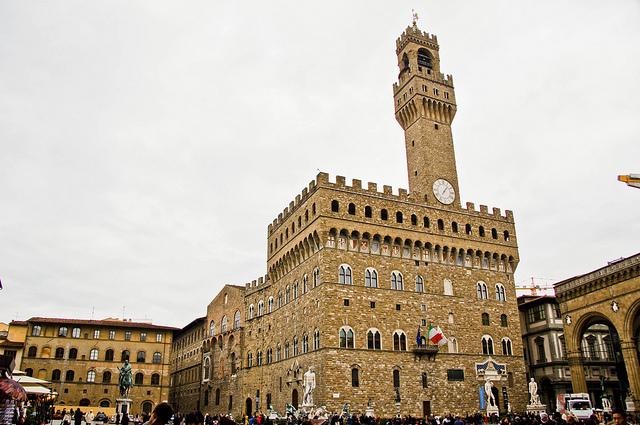 Piazza della Signoria by Ethan Lin