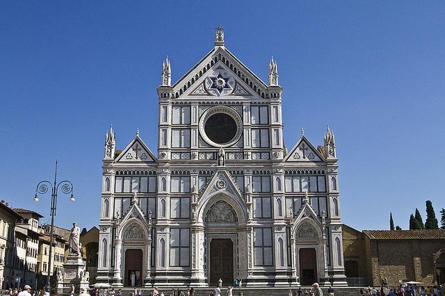 Basilica di Santa Croce by Kathy Adams Clark