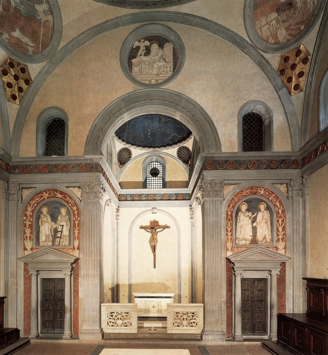 Brunelleschi's Old Sacristy of San Lorenzo by arthistory390