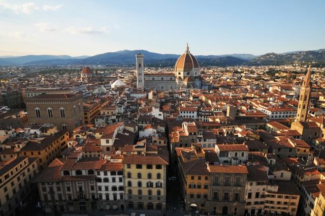 Vista dalla Torre di Arnolfo by Alessandro Giannini