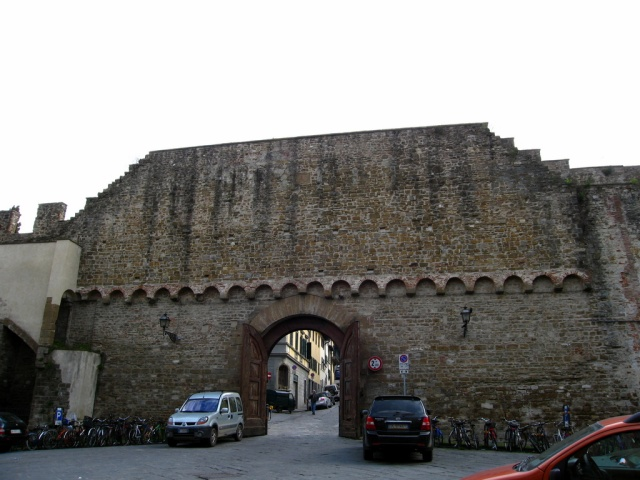 Porta San Miniato - Old City Wall