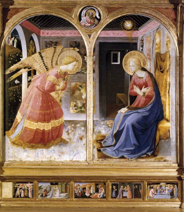 Annunciation of San Giovanni Valdarno, Fra Angelico, c. 1430