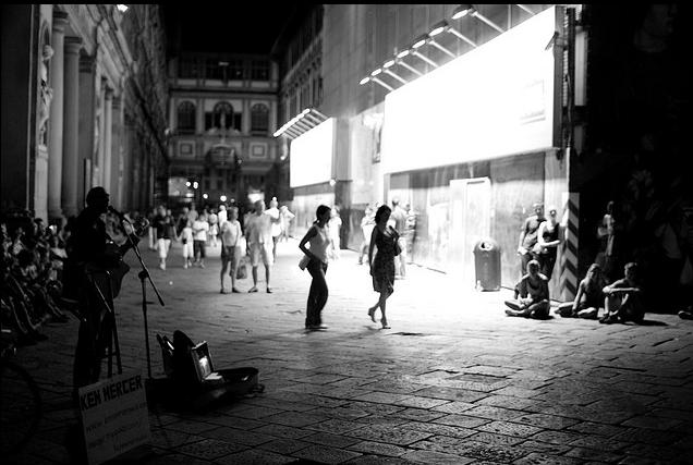 Uffizi at Night by Alessandro Scarcella