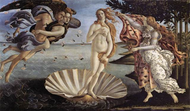 Sandro Botticelli, The Birth of Venus, 1485