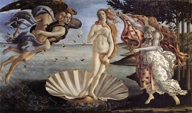 Sandro Botticelli, The Birth of Venus, 1485