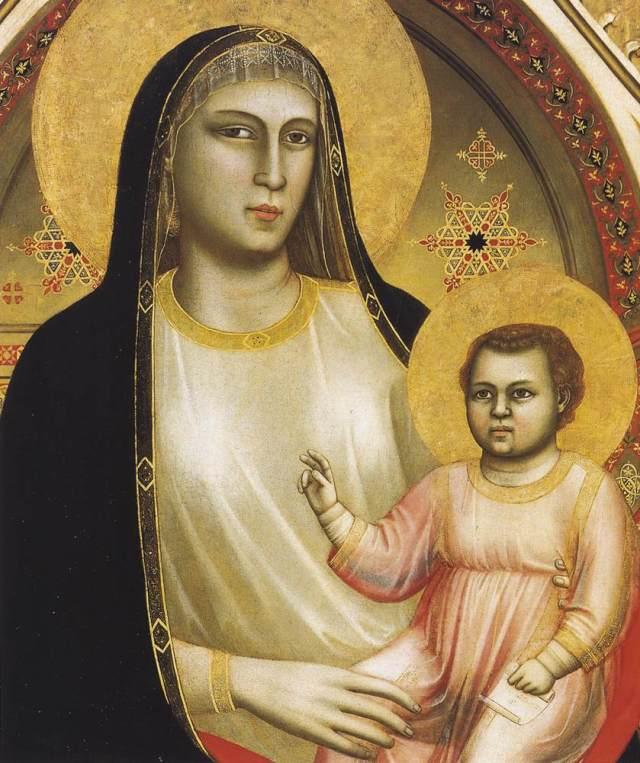 Giotto, Ognissanti Madonna, ca. 1310