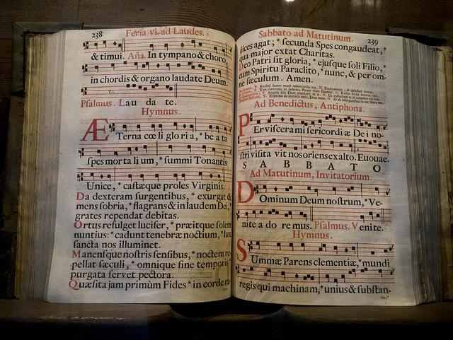 Music score at Santa Croce by EST32