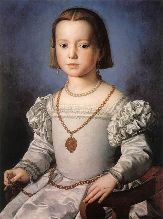 Agnolo Bronzino, Bia, 1542