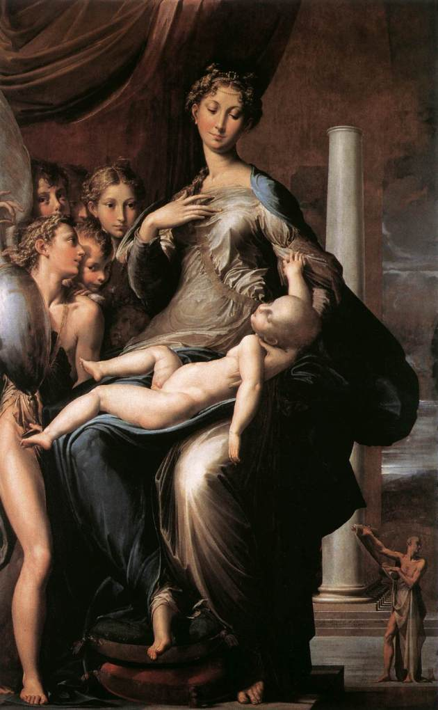 Parmigianino, Madonna with the Long Neck, 1534-1540