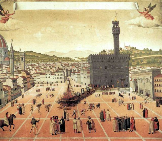 Execution of Savonarola, ca. 1498