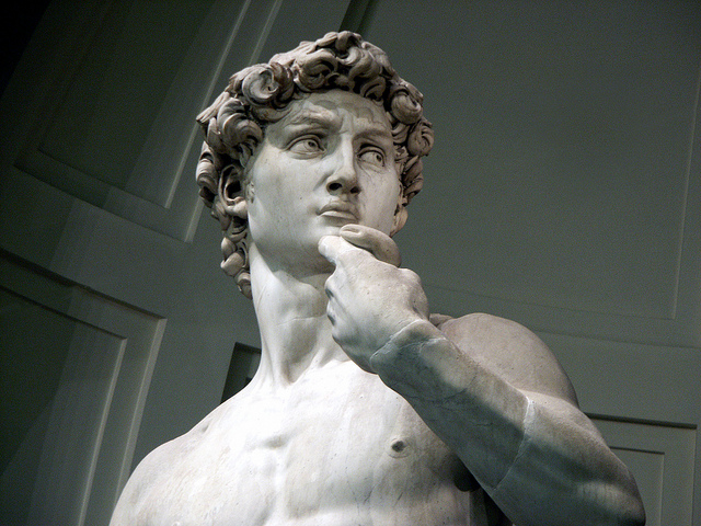 Michelangelo's David at the Accademia by SUFlorence on Flickr