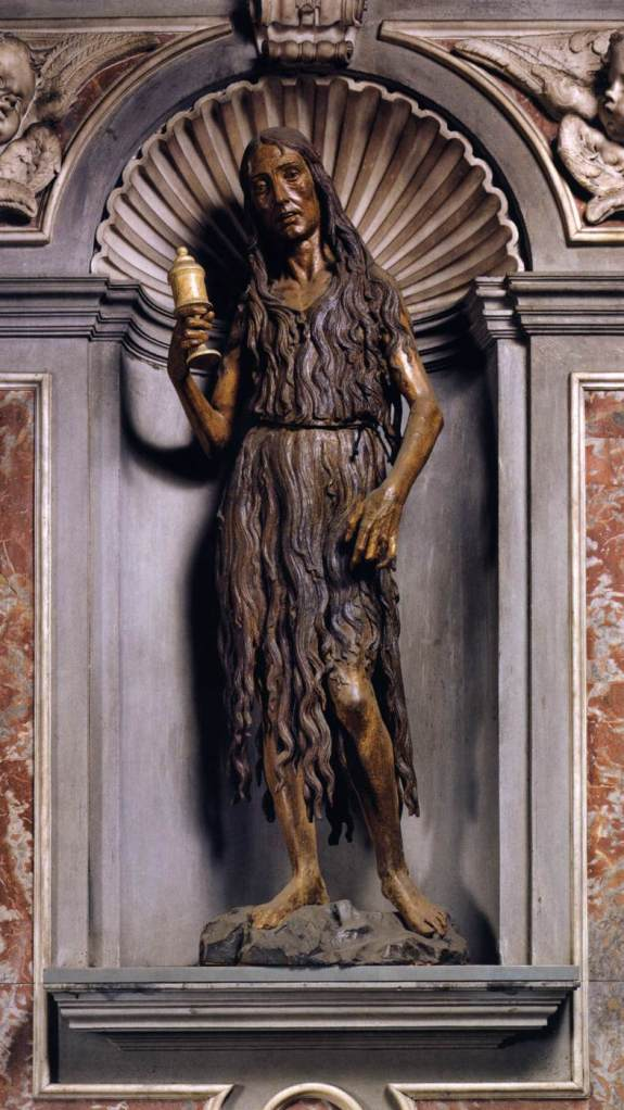 Mary Magdalene by Desiderio da Settignano via the Web Gallery of Art