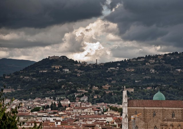 View of Fiesole from Florence