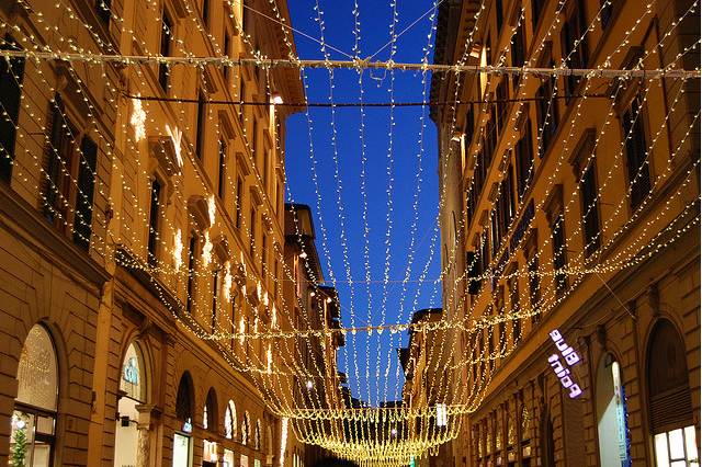 Christmas in Florence by bigmico via Flickr