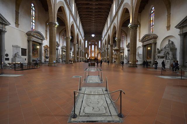 Inside Santa Croce by Bernhard Kvaal