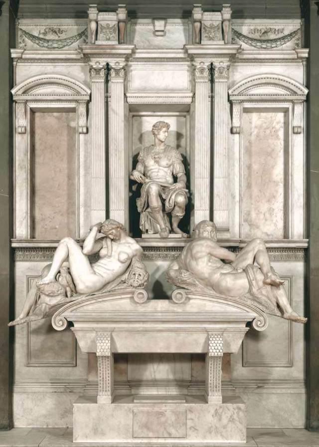 Tomb of Giuliano de' Medici, Michelangelo