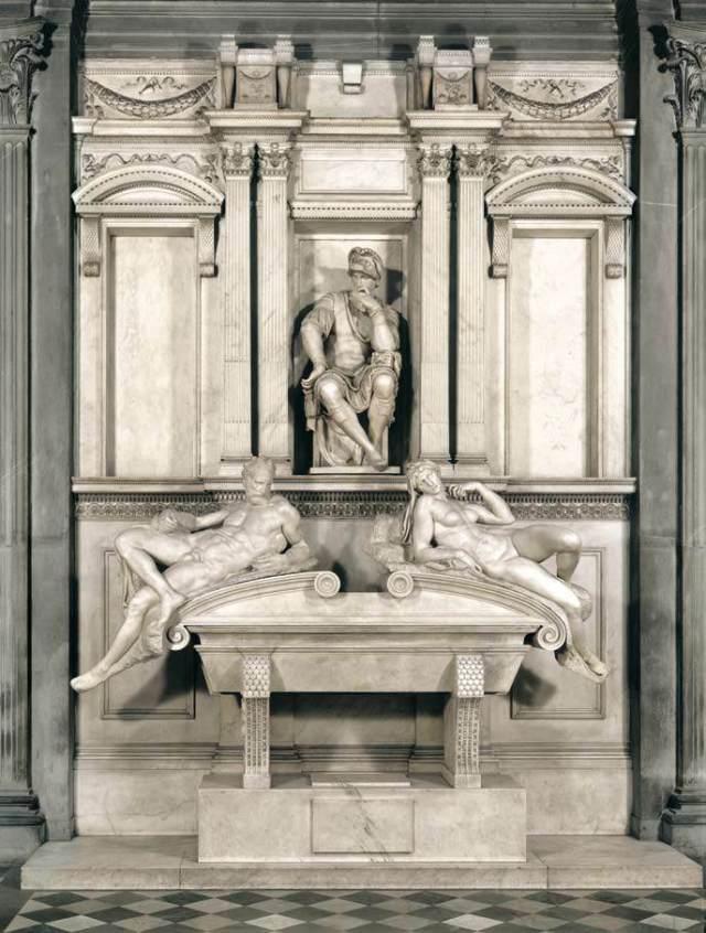 Tomb of Lorenzo de' Medici, Michelangelo