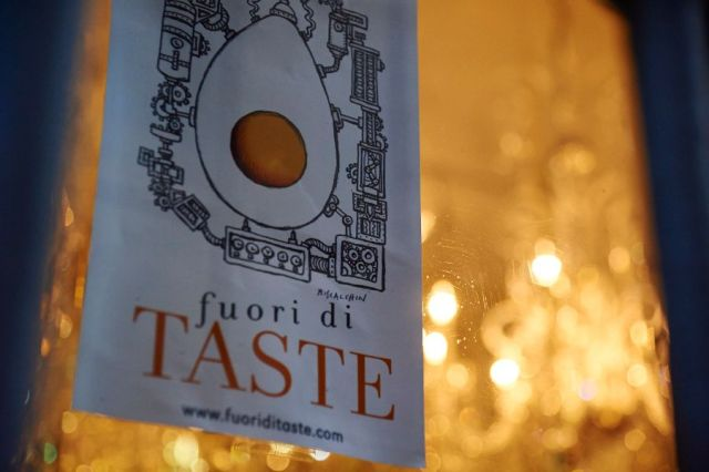 A peek at one of the off-site locations for last year's Fuori di Taste