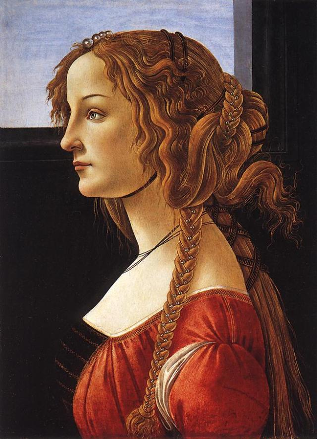 Sandro Botticelli, Portrait of a Young Woman, after 1480