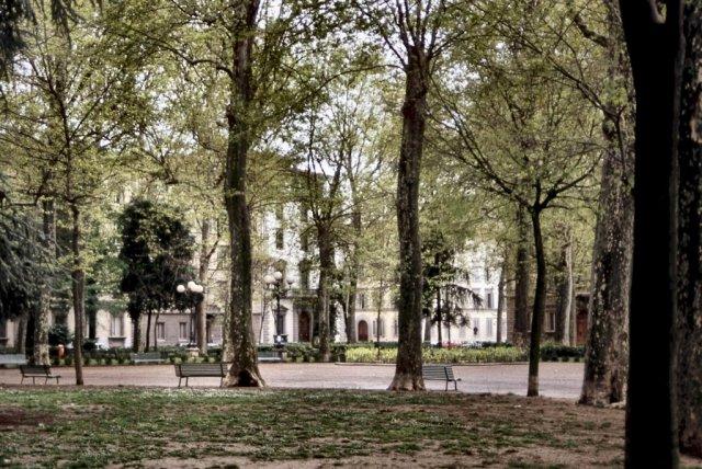 Piazza d'Azeglio by Roberto Tomei