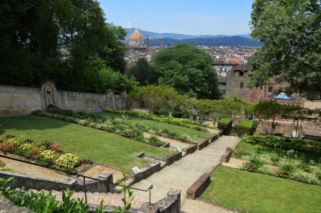 A view from the Bardini Gardens by Deborah Guber