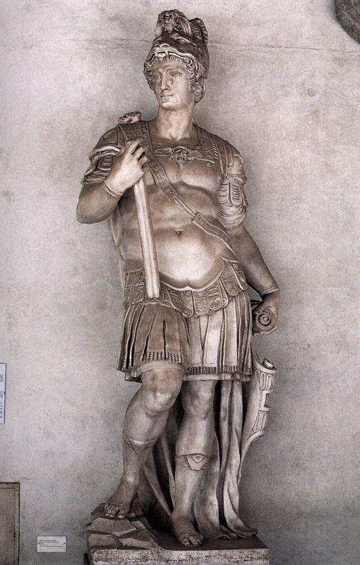 Cosimo I de' Medici as Augustus by Vincenzo Danti, c. 1570, Bargello