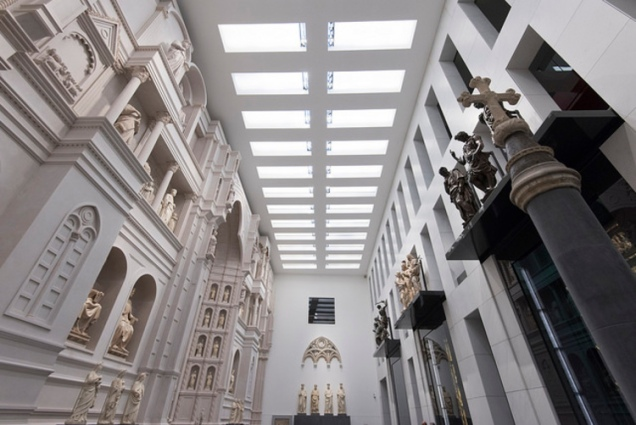 Inside the new Museo dell'Opera del Duomo