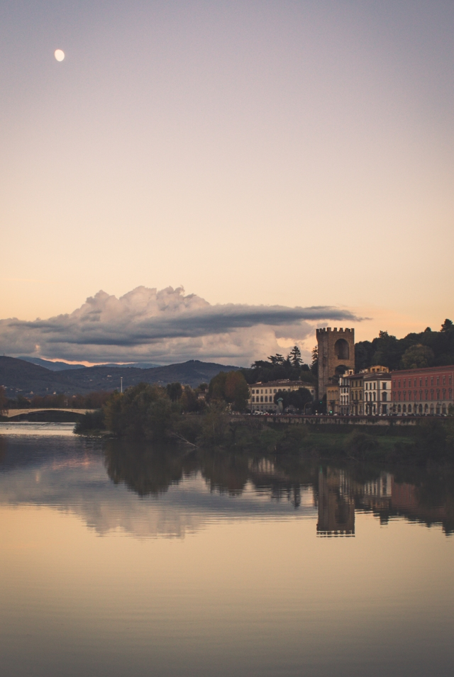 View of the Oltrarno